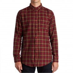 ef9cb889 CCS Flannel Long Sleeve Shirt - Badlands Red Plaid