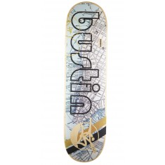 Bustin Pro Skateboard Deck - NYC Map - 8.25""