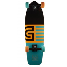 Goldcoast The Jetty Orange Longboard Cruiser Complete