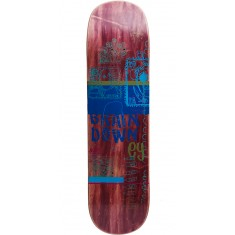 Scumco Brian Downey Postage Paid Skateboard Deck - 8.25""