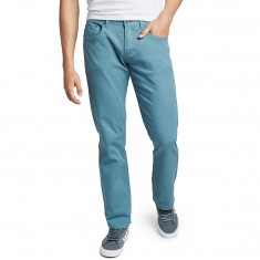 CCS Banks Straight Fit 5 Pocket Twill Pants - Iceberg