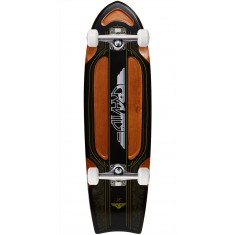 "Gravity Bat Tail 28"" Longboard Complete"