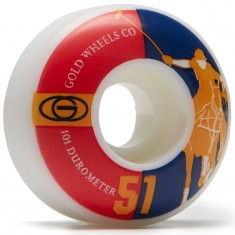 Gold Karat Club Skateboard Wheels - 51mm