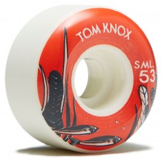 SML Nautical Series Tom Knox V Cut Skateboard Wheels - 53mm