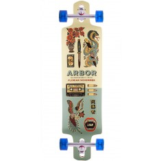"""Arbor Artist Collection Axis GT Drop Cruiser Longboard Complete - 38"""""""