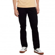 CCS Slim Fit 5 Pocket Twill Pants - Black