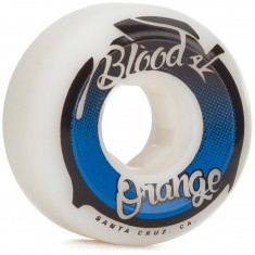 Blood Orange Street Raw Conical Skateboard Wheels - 53mm 99a