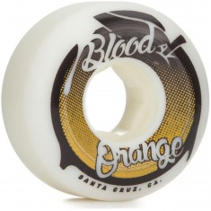 Blood Orange Street Raw Conical Skateboard Wheels - 55mm 99a