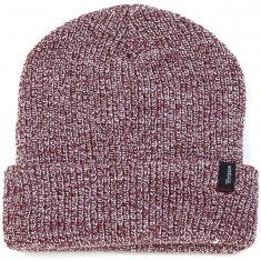 Brixton Heist Beanie - Burgundy Heather