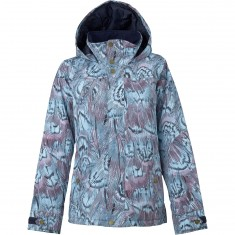 Burton Jet Set Womens Snowboard Jacket - Feathers