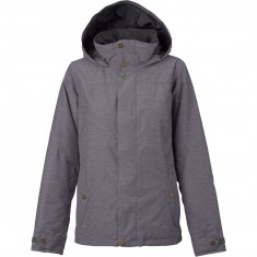 Burton Jet Set Womens Snowboard Jacket - Flecked Chambray