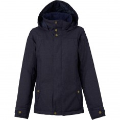 Burton Jet Set Womens Snowboard Jacket - Mood Indigo
