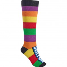 Burton Party Womens Snowboard Socks - 5 Flavor