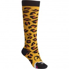 Burton Party Womens Snowboard Socks - Jaguar