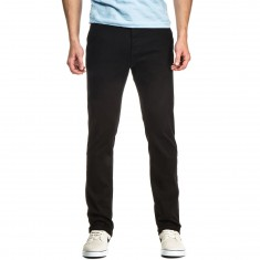 CCS Clipper Slim Fit Chino Pants - Black