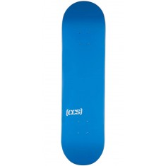 CCS Logo Skateboard Deck - Blue