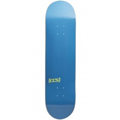 CCS Logo Skateboard Deck - Deep Blue