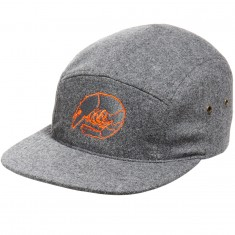 CCS Shrimp Merlino Wool 5 Panel Hat - Grey