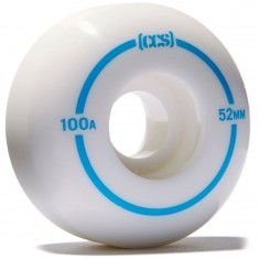 CCS Skateboard Wheels - White