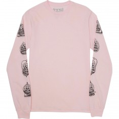 CCS Snakey Long Sleeve T-Shirt - Pink