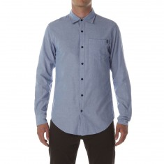 CCS Switch Long Sleeve Woven Shirt - Chambray