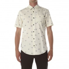 CCS Switch Short Sleeve Woven Shirt - Bird Pattern