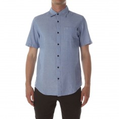 CCS Switch Short Sleeve Woven Shirt - Chambray