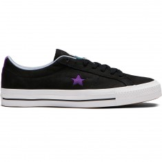 Converse X Dinosaur Jr One Star Pro Ox Shoes - Black/Allium Purple/White