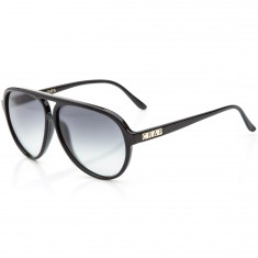 Crap Eyewear The Nite Shift Sunglasses - Gloss Black/Grey Gradient
