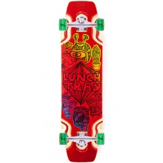 """DB Lunch Tray 36"""" Longboard Complete - Red"""