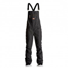DC Collective Overall Womens Snowboard Pants - Black
