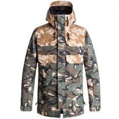 DC Haven Snowboard Jacket - Brittish Reflective Camo