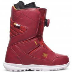 DC Search Womens Snowboard Boots 2017 - Maroon