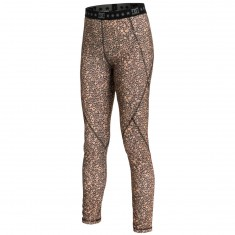 DC Seema Womens Snowboard Base Layer Pant - Hebon Leopard