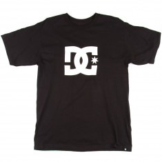 DC Star Short Sleeve T-Shirt - Black