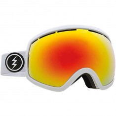Electric EG2 Snowboard Goggles - Gloss White/Brose/Red Chrome