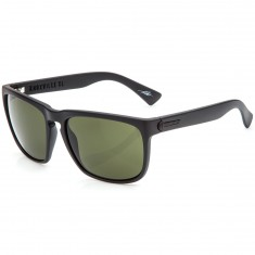 Electric Knoxville XL Sunglasses - Matte Black with Melanin Grey
