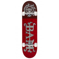 Element Bam LTD Red Skateboard Complete - 8.25""