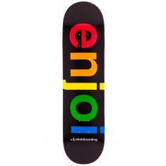 Enjoi Spectrum HYB Skateboard Deck - Black