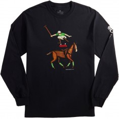 Everybody Skates Leaper Long Sleeve T-Shirt - Black