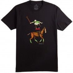 Everybody Skates Leaper T-Shirt - Black