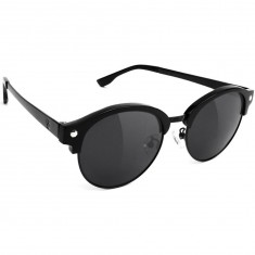 Glassy Paul Polarized High Roller Sunglasses - Matte Black/Black