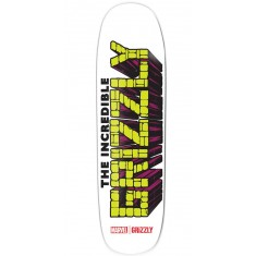 Grizzly X Hulk Brick Cruiser Skateboard Deck