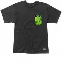 Grizzly X Hulk Pocket T-Shirt - Black