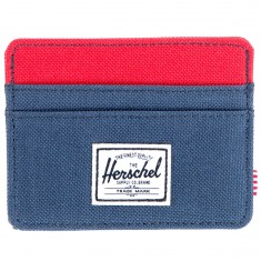 Herschel Charlie Wallet - Navy/Red