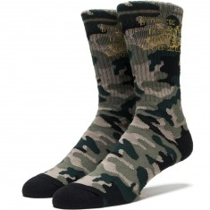 Huf Make Em Say Camo Socks - Camo
