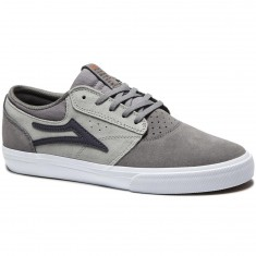 Lakai Griffin Shoes - Grey Suede