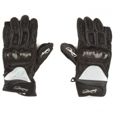 Loaded Leather Race Gloves - Dark Gray