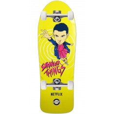Madrid X Stranger Things Eleven Yellow Skateboard Complete