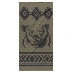 Night Shift X Grizzly Rocky Mountain Beach Towel - Rocky MTN